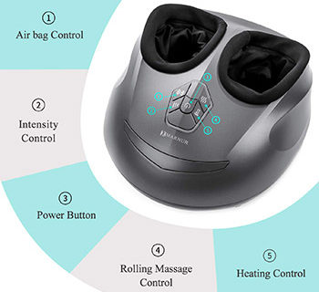 best foot massager for periphrial neurophtay